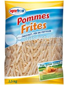 Produktabbildung: Agrarfrost Pommes Frites Wellenschnitt 2,5 kg