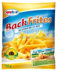 Produktabbildung: Agrarfrost Backfrites mit 3% Fett 750 g
