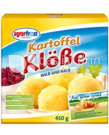 Produktabbildung: Agrarfrost Kartoffel-Klöße 450 g