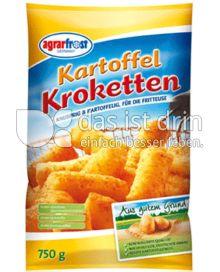 Produktabbildung: Agrarfrost Kartoffel-Kroketten 750 g