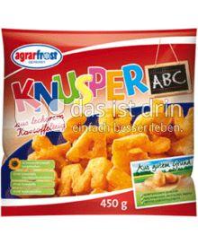 Produktabbildung: Agrarfrost Knusper ABC 450 g
