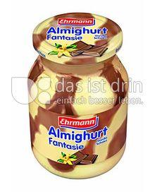 Produktabbildung: Ehrmann Almighurt Fantasie Vanilla-Schoko 500 g