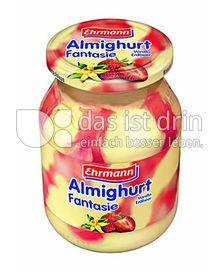 Produktabbildung: Ehrmann Almighurt Fantasie Vanilla Erdbeer 500 g