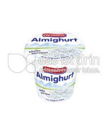 Produktabbildung: Ehrmann Almighurt Mohn-Marzipan 150 g