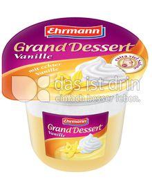 Produktabbildung: Ehrmann Grand Dessert Vanille 200 g