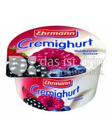 Produktabbildung: Ehrmann Cremighurt Waldbeeren Auslese 150 g