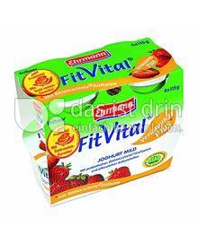 Produktabbildung: Ehrmann Fit Vital Diät-Fruchjoghurt mild Erdbeer 500 g