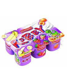 Produktabbildung: Ehrmann Robby Erdbeer-Banane-Aprikose 0 g