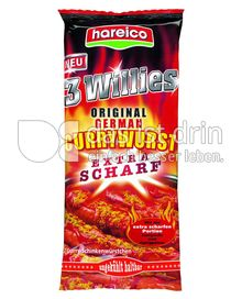 Produktabbildung: Hareico 3 Willies Original German Currywurst 466,5 g
