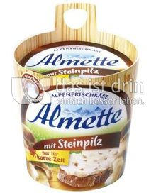 Produktabbildung: Almette Alpenfrischkäse mit Steinpilz 150 g