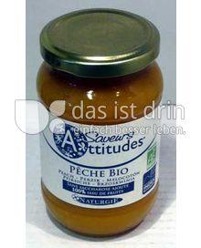 Produktabbildung: Saveurs Attitudes Frucht-Brotaufstrich Pfirsich / Pêche Bio 310 g