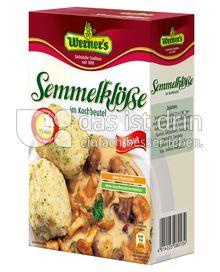 Produktabbildung: Werner's Semmelklöße 6 St.