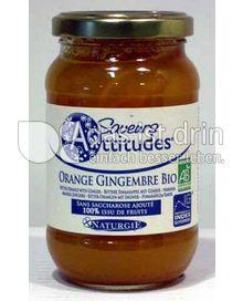 Produktabbildung: Saveurs Attitudes Frucht-Brotaufstrich Orange-Ingwer / Orange-Gingembre Bio 310 g