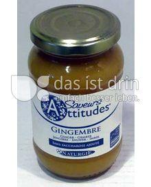 Produktabbildung: Saveurs Attitudes Frucht-Brotaufstrich Ingwer / Gingemre 310 g