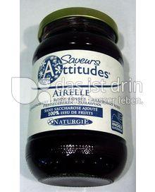 Produktabbildung: Saveurs Attitudes Frucht-Brotaufstrich Preiselbeeren / Airelle /Cranberry 310 g