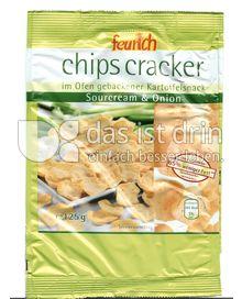 Produktabbildung: feurich chips cracker 125 g