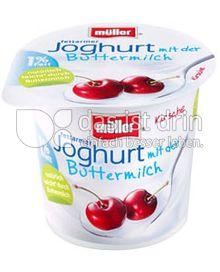Produktabbildung: Müller Joghurt mit der Buttermilch Kirsche 150 g