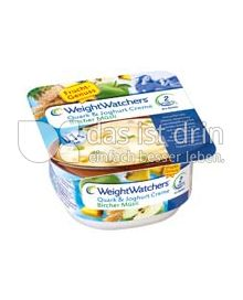 Produktabbildung: Weight Watchers Quark & Joghurt Creme Bircher Müsli 150 g