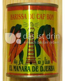 Produktabbildung: Harissa de piment rouge fort - Le Phare du Cap Bon Scharfe Pimentsauce aus Tunesien - Sauce piquante de Tunisie 135 g