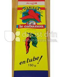"""Produktabbildung: Harissa du Cabanon Pimentsauce aus Tunesien """"Le Cabanon"""" 150 g"""