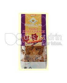 Produktabbildung: Sommer Dinkel Zimt Gebäck 150 g