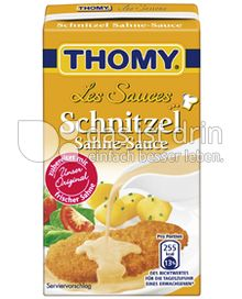 Produktabbildung: Thomy Les Sauces Schnitzel Sahne-Sauce 250 ml