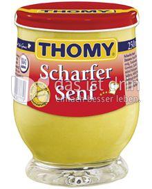 Produktabbildung: Thomy Scharfer Senf 250 ml