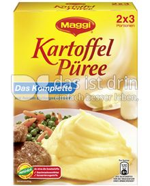 Produktabbildung: Maggi Kartoffel Püree Das Komplette 200 g