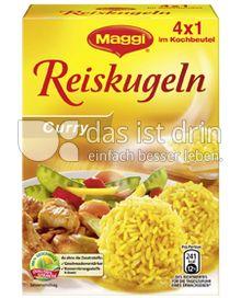 Produktabbildung: Maggi Reiskugeln Curry 125 g