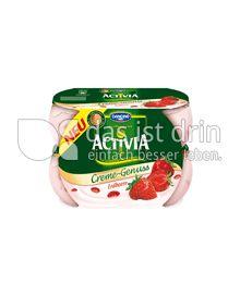 Produktabbildung: Danone Activia Creme Genuss Erdbeere 125 g