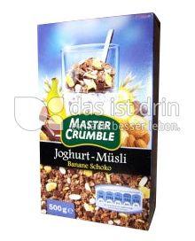 Produktabbildung: Master Crumble Joghurt-Müsli Banane Schoko 500 g