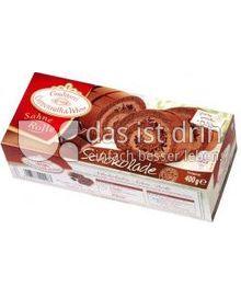 Produktabbildung: Conditorei Coppenrath & Wiese Sahne Rolle Schokolade 400 g
