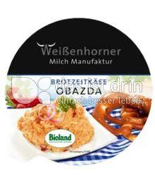 Produktabbildung: Weißenhorner Brotzeitkäse Obazda 125 g