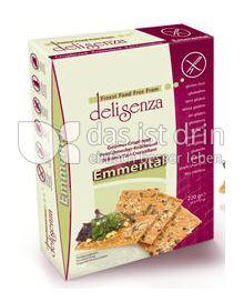 Produktabbildung: Delisenza Feinschmecker Knäcke Emmental 220 g