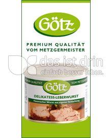 Produktabbildung: Götz Delikatess Leberwurst 200 g