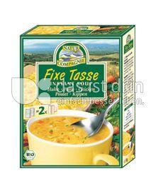 Produktabbildung: NATUR COMPAGNIE Fixe Tasse Hühnersuppe mit Nudeln 34 g
