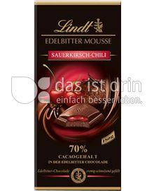 Produktabbildung: Lindt Edelbitter Mousse Sauerkirsch-Chili 150 g