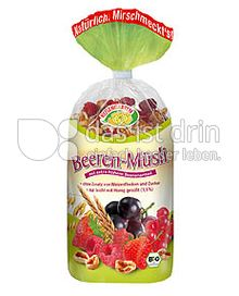 Produktabbildung: Rosengarten Beeren Müsli 750 g