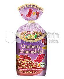 Produktabbildung: Rosengarten Cranberry Johannisbeer Müsli 375 g