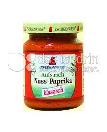 Produktabbildung: Zwergenwiese Nuss Paprika Aufstrich 125 g