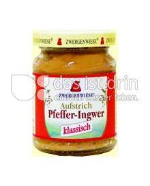 Produktabbildung: Zwergenwiese Pfeffer Ingwer Aufstrich 125 g