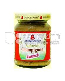 Produktabbildung: Zwergenwiese Champignon Brotaufstrich 125 g