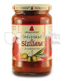 Produktabbildung: Zwergenwiese Tomatensauce Siziliana 350 g