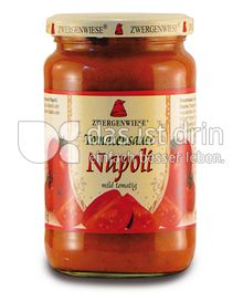 Produktabbildung: Zwergenwiese Tomatensauce Napoli 350 g