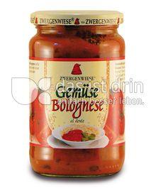 Produktabbildung: Zwergenwiese Gemüse Bolognese 350 g