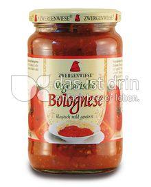 Produktabbildung: Zwergenwiese Vegetarische Bolognese 350 g