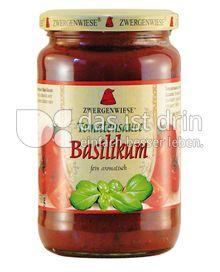 Produktabbildung: Zwergenwiese Tomatensauce Basilikum 350 g