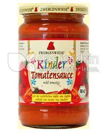 Produktabbildung: Zwergenwiese Kinder Tomatensauce 350 g