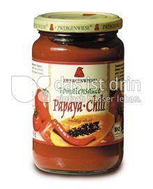 Produktabbildung: Zwergenwiese Tomatensauce Papaya Chili 350 g