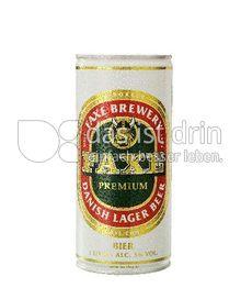 Produktabbildung: Faxe Danish Lager Bier Bier 1 l